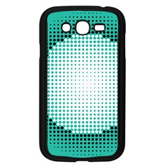 Circle Therapy Print Samsung Galaxy Grand Duos I9082 Case (black) by julissadesigns