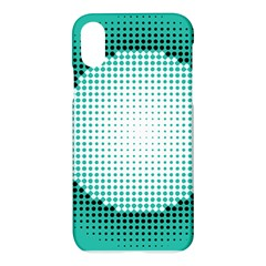 Circle Therapy Print Apple Iphone X Hardshell Case by julissadesigns