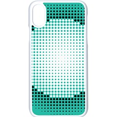 Circle Therapy Print Apple Iphone X Seamless Case (white) by julissadesigns