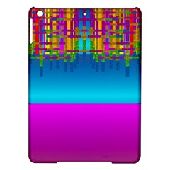 Sky Earth And Star Fall Ipad Air Hardshell Cases by pepitasart