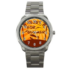 Ready For Summer Sport Metal Watch by Melcu