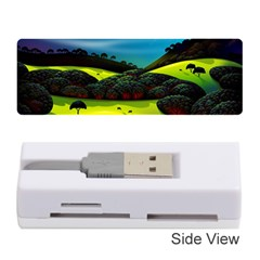 Morning Mist Memory Card Reader (stick)  by ValleyDreams