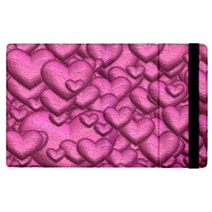 Shimmering Hearts Pink Apple Ipad Pro 12 9   Flip Case by MoreColorsinLife