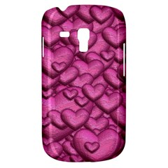 Shimmering Hearts Pink Galaxy S3 Mini by MoreColorsinLife