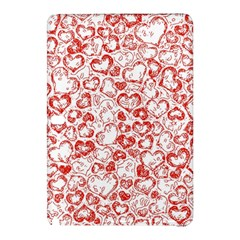 Vivid Hearts, Red Samsung Galaxy Tab Pro 10 1 Hardshell Case by MoreColorsinLife