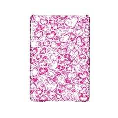 Vivid Hearts, Pink Ipad Mini 2 Hardshell Cases by MoreColorsinLife