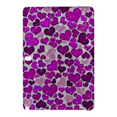 Sparkling Hearts Purple Samsung Galaxy Tab Pro 10 1 Hardshell Case by MoreColorsinLife