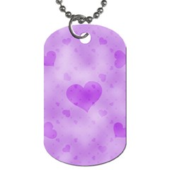 Soft Hearts D Dog Tag (two Sides) by MoreColorsinLife