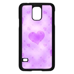 Soft Hearts D Samsung Galaxy S5 Case (black) by MoreColorsinLife