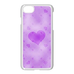Soft Hearts D Apple Iphone 8 Seamless Case (white)