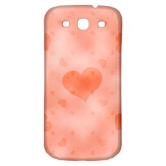 Soft Hearts C Samsung Galaxy S3 S Iii Classic Hardshell Back Case by MoreColorsinLife