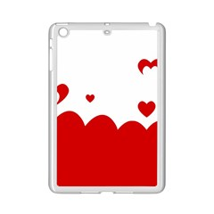 Heart Shape Background Love Ipad Mini 2 Enamel Coated Cases