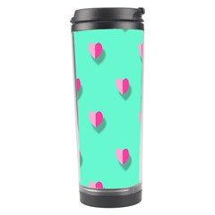 Love Heart Set Seamless Pattern Travel Tumbler by Nexatart