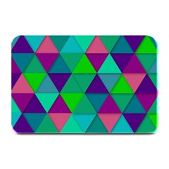 Background Geometric Triangle Plate Mats by Nexatart