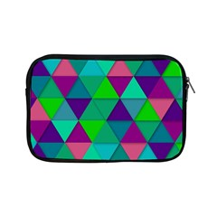 Background Geometric Triangle Apple Ipad Mini Zipper Cases