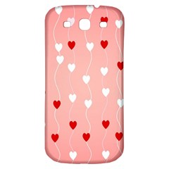 Heart Shape Background Love Samsung Galaxy S3 S Iii Classic Hardshell Back Case