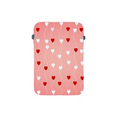 Heart Shape Background Love Apple Ipad Mini Protective Soft Cases