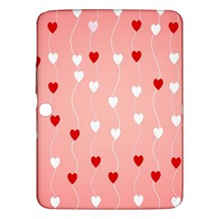 Heart Shape Background Love Samsung Galaxy Tab 3 (10 1 ) P5200 Hardshell Case
