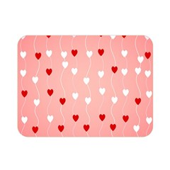 Heart Shape Background Love Double Sided Flano Blanket (mini)