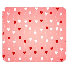 Heart Shape Background Love Double Sided Flano Blanket (small)