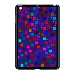 Squares Square Background Abstract Apple Ipad Mini Case (black)
