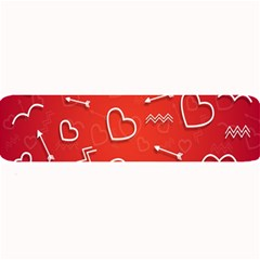 Background Valentine S Day Love Large Bar Mats