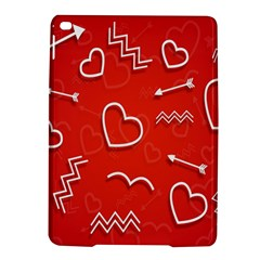 Background Valentine S Day Love Ipad Air 2 Hardshell Cases by Nexatart