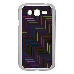 Lines Line Background Samsung Galaxy Grand Duos I9082 Case (white)