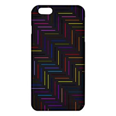 Lines Line Background Iphone 6 Plus/6s Plus Tpu Case by Nexatart