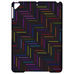 Lines Line Background Apple Ipad Pro 9 7   Hardshell Case