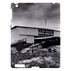Omaha Airfield Airplain Hangar Apple Ipad 3/4 Hardshell Case