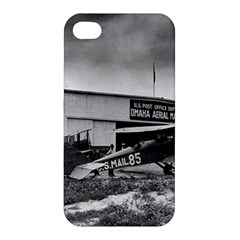 Omaha Airfield Airplain Hangar Apple Iphone 4/4s Premium Hardshell Case