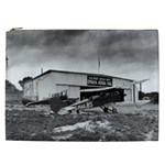 Omaha Airfield Airplain Hangar Cosmetic Bag (XXL)  Front