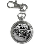 Vehicle Car Transportation Vintage Key Chain Watches Front