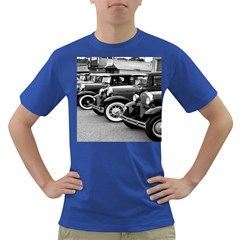 Vehicle Car Transportation Vintage Dark T Shirt by Nexatart