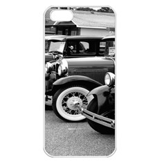 Vehicle Car Transportation Vintage Apple Iphone 5 Seamless Case (white)