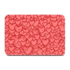 Background Hearts Love Plate Mats