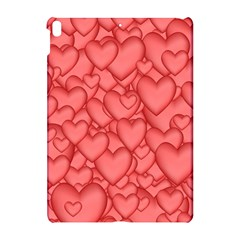 Background Hearts Love Apple Ipad Pro 10 5   Hardshell Case