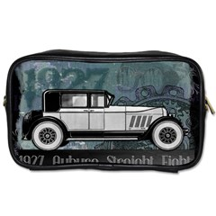 Vintage Car Automobile Auburn Toiletries Bags 2 Side by Nexatart