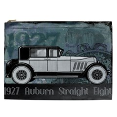 Vintage Car Automobile Auburn Cosmetic Bag (xxl)
