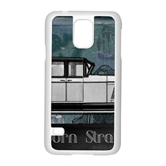 Vintage Car Automobile Auburn Samsung Galaxy S5 Case (white)