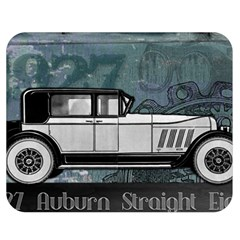 Vintage Car Automobile Auburn Double Sided Flano Blanket (medium)  by Nexatart