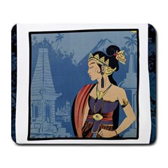 Java Indonesia Girl Headpiece Large Mousepads by Nexatart