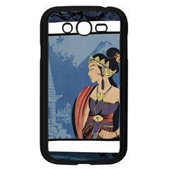 Java Indonesia Girl Headpiece Samsung Galaxy Grand Duos I9082 Case (black)