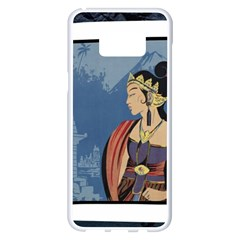 Java Indonesia Girl Headpiece Samsung Galaxy S8 Plus White Seamless Case