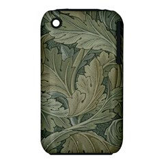 Vintage Background Green Leaves Iphone 3s/3gs