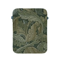 Vintage Background Green Leaves Apple Ipad 2/3/4 Protective Soft Cases