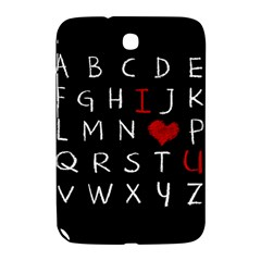 Love Alphabet Samsung Galaxy Note 8 0 N5100 Hardshell Case
