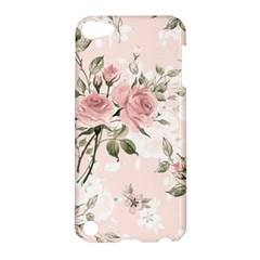 Pink Shabby Chic Floral Apple Ipod Touch 5 Hardshell Case by 8fugoso