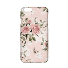 Pink Shabby Chic Floral Apple Iphone 6/6s Hardshell Case by 8fugoso